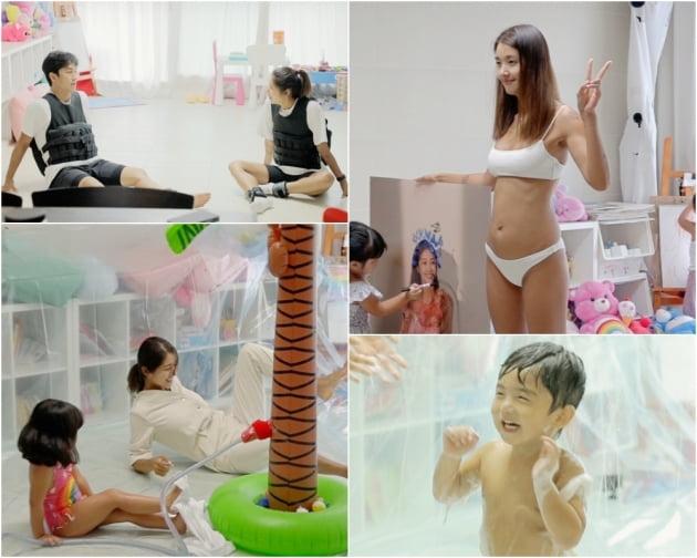 '23kg 감량' 김빈우, 비키니 입고 11자 복근 탄생 비법 전수 ('와카남')