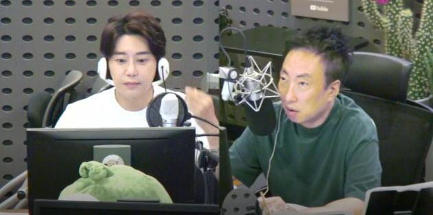 사진=KBS 쿨 FM '박명수의 라디오쇼' 보이는 라디오 캡처
