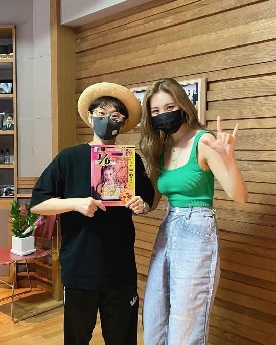 사진='정오의 희망곡 김신영입니다' 공식 인스타그램