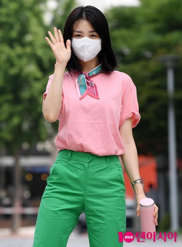 [TEN 포토] 박하선 '텀블러를 사랑하는 환경지킴이'