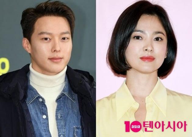 배우 장기용(왼쪽)과 송혜교/ 사진=텐아시아DB