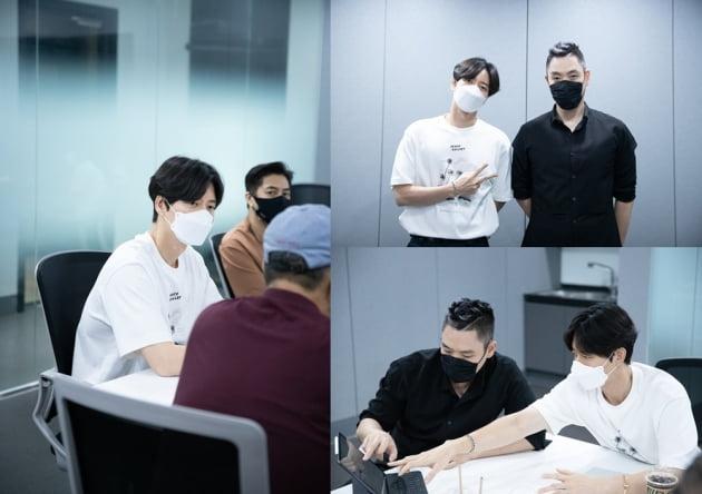 배우 박해진과 이은결/ 사진=마운틴무브먼트 제공