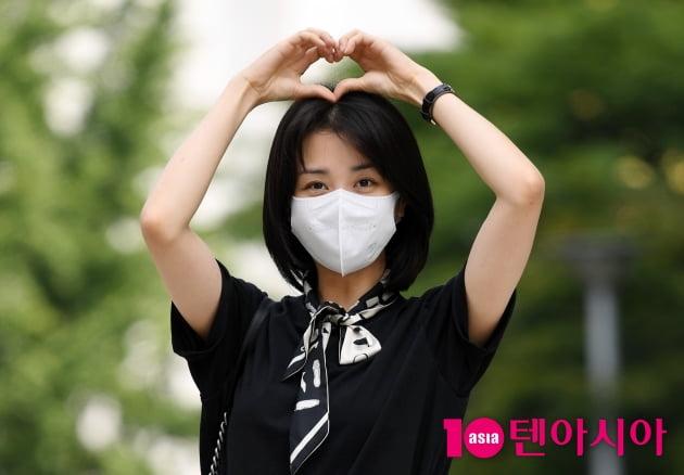 [TEN 포토] 박하선 '달콤 하트'
