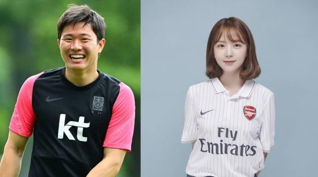 축구선수 권창훈(왼쪽)과 정이수/ 사진=인스타그램