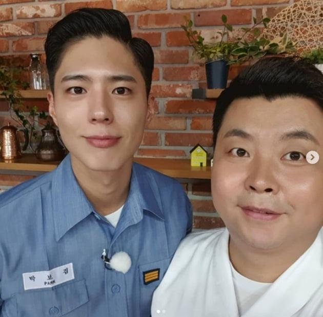 박보검 정호영 셰프 / 사진 = 정호영 인스타그램