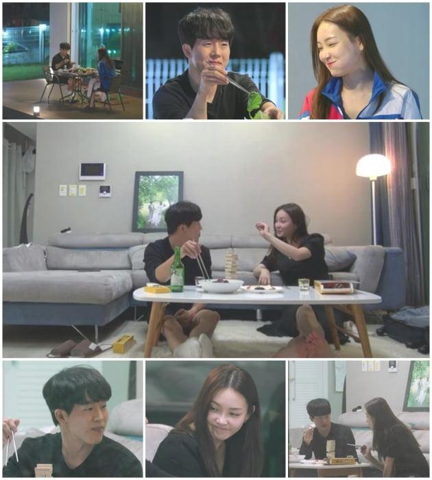 '돌싱글즈' 추성연 이아영/ 사진=MBN 제공
