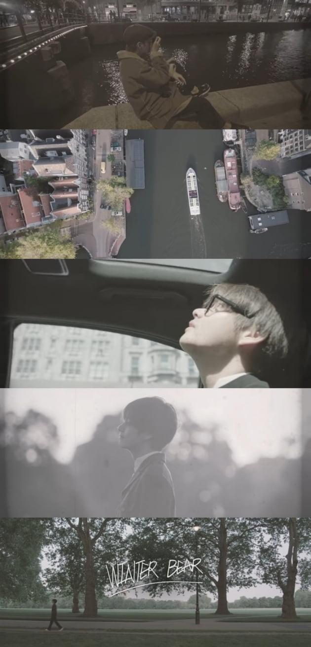 방탄소년단 뷔, 자작곡 '윈터 베어' MV 7800만 뷰 돌파... 영상 감독까지 뛰어난 재능