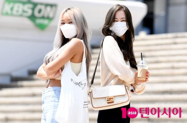[TEN 포토]효린-다솜 '원조 썸머퀸 씨스타 유닛으로 귀한'