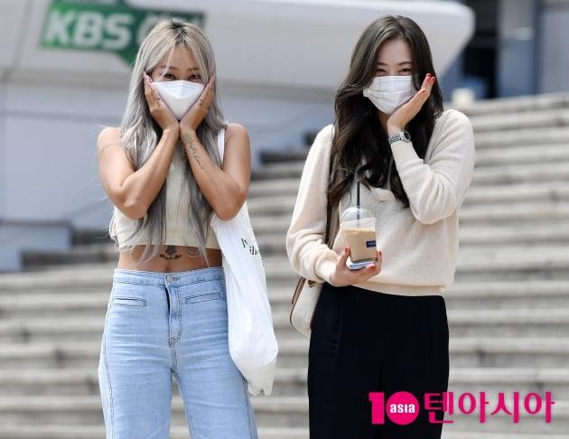 [TEN 포토]효린-다솜 '변함없는 미모'