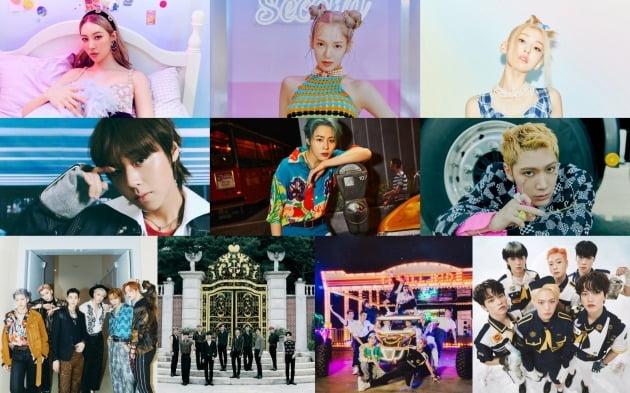 8월 12일 Mnet '엠카운트다운' 출연진 / 사진제공=Mnet