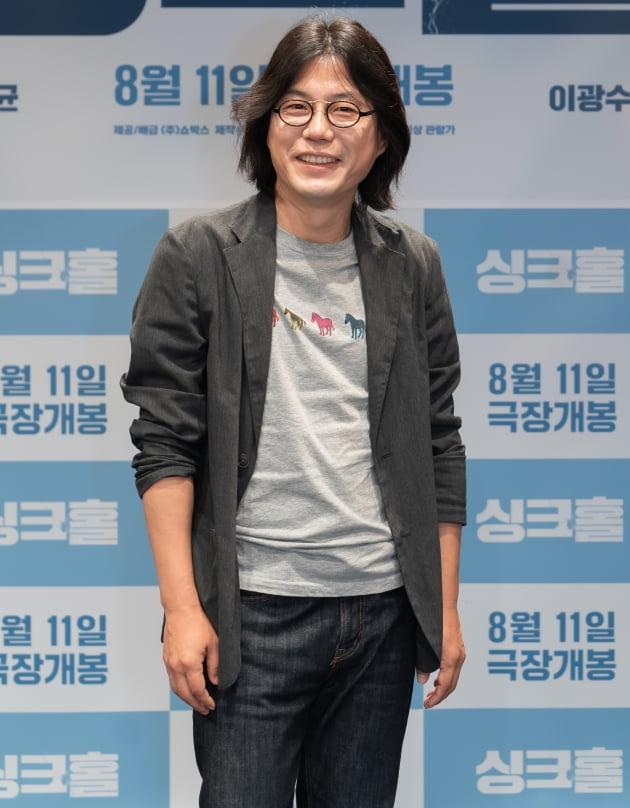 영화 '싱크홀' 김지훈 감독./ 사진제공=쇼박스