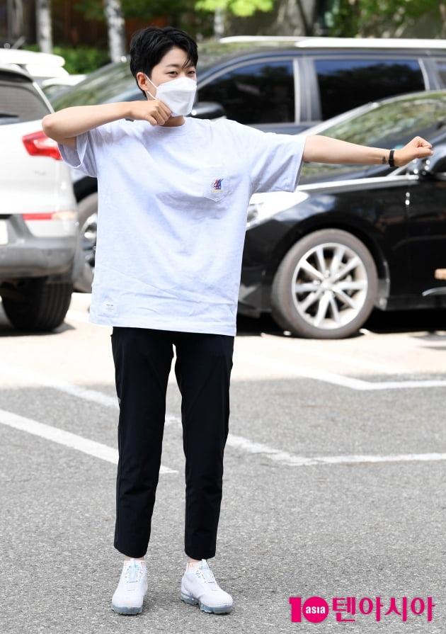 [TEN 포토] 안산 '금메달 활시위'