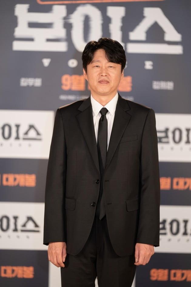 배우 김희원이 19일 열린 영화 '보이스' 온라인 제작보고회에 참석했다. / 사진제공=CJ ENM
