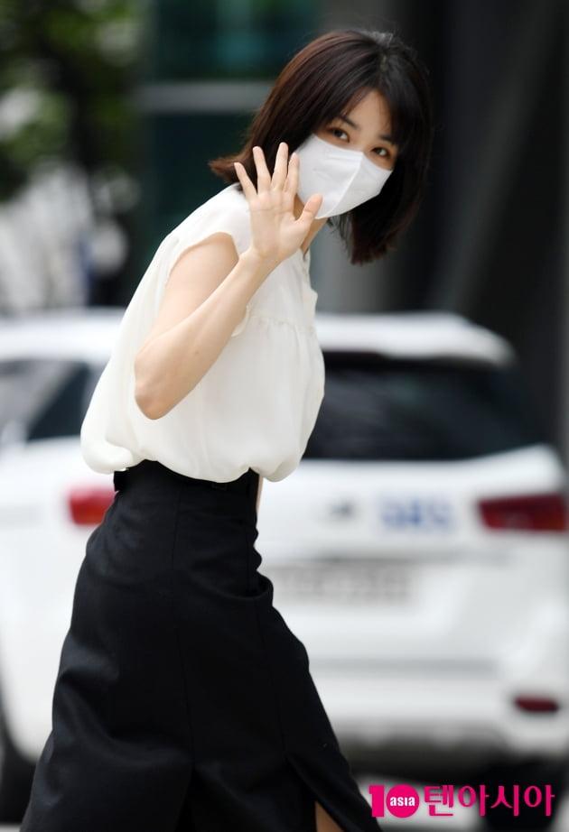 [TEN 포토] 박하선 '오늘도 열일중'