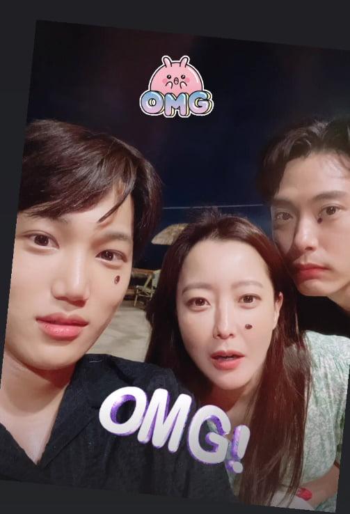 김희선, 카이-유태오와 못난이 수박씨 콘테스트[TEN★]