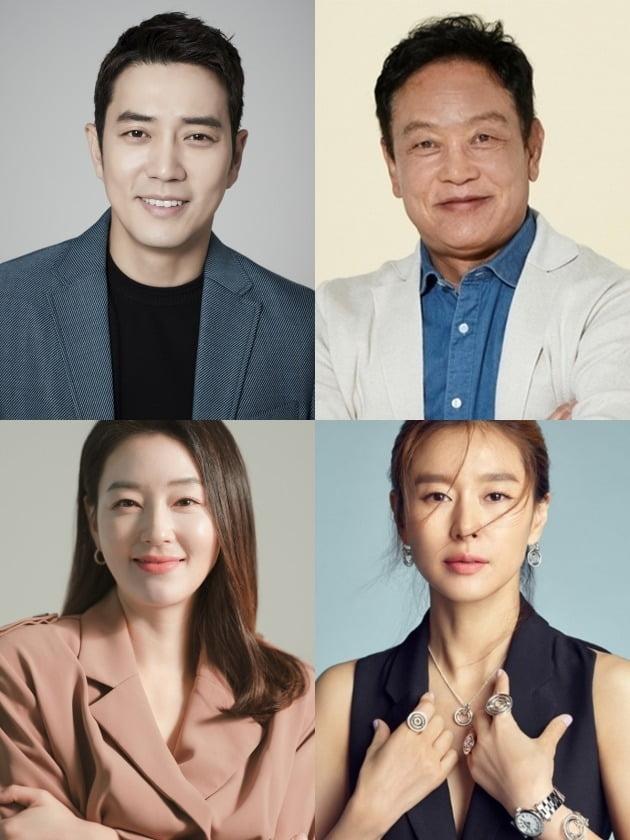 '태종 이방원' 주상욱, 김영철, 박진희, 예지원./사진제공=각 소속사 제공