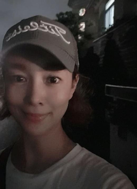 '50세' 김원희, 마스크 벗었더니 1등 동안 미모 [TEN★]