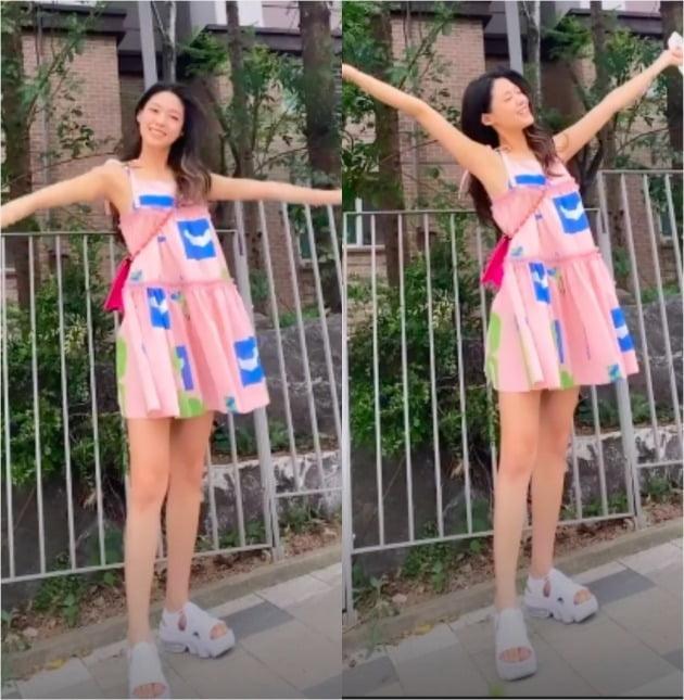 사진=설현 인스타그램 영상 캡처