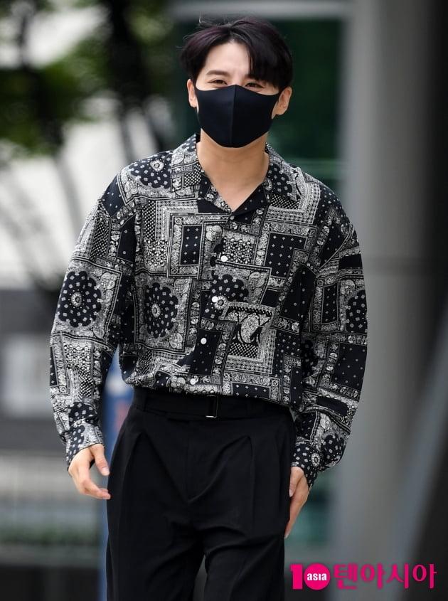 [TEN 포토] 김준수 '애교 눈웃음'