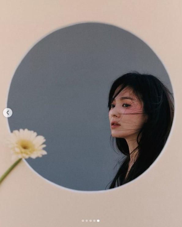 송혜교, B컷도 정말 멋진데....현실판 여신[TEN★]