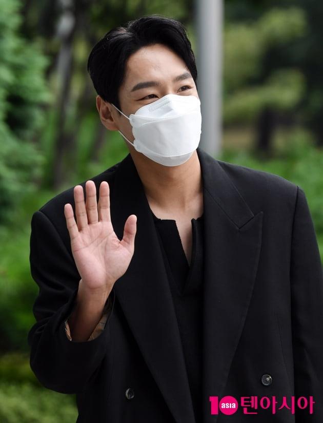 [TEN 포토] 곽시양 '손짓 하나에도 팬들 심쿵'