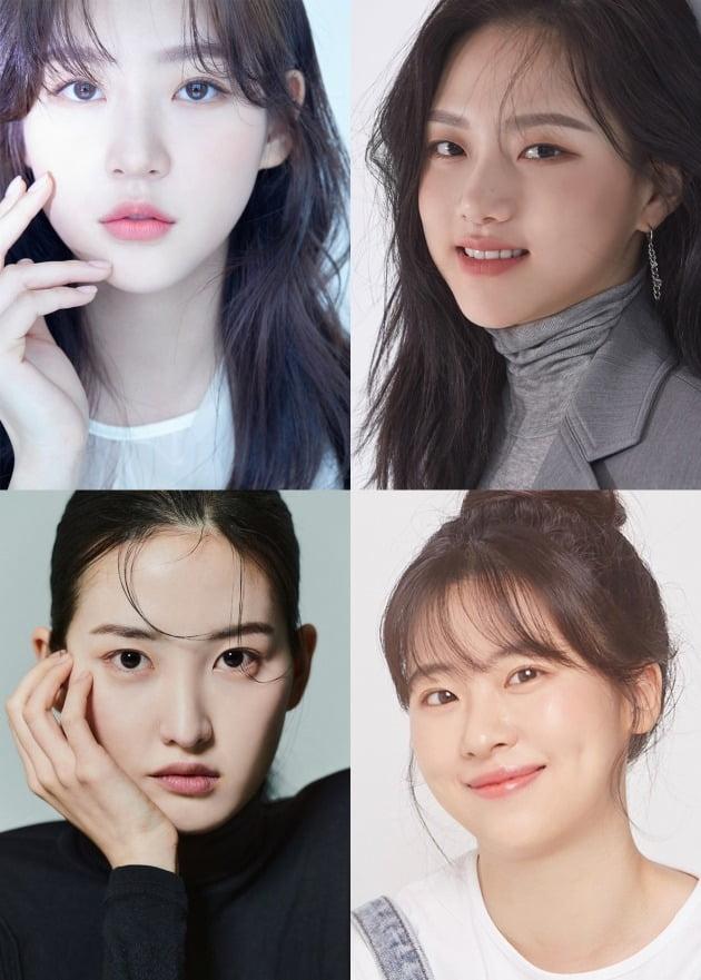 사진 제공=골드메달리스트(김새론), 싸이더스(정다은), TH컴퍼니(서은영), 본인(이하영)