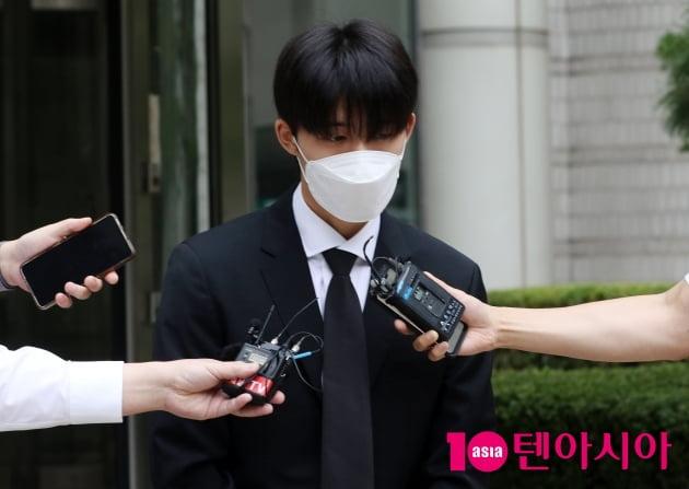 """[TEN 포토] '마약 투약 협의' 비아이 """"죄송합니다 반성합니다"""""""