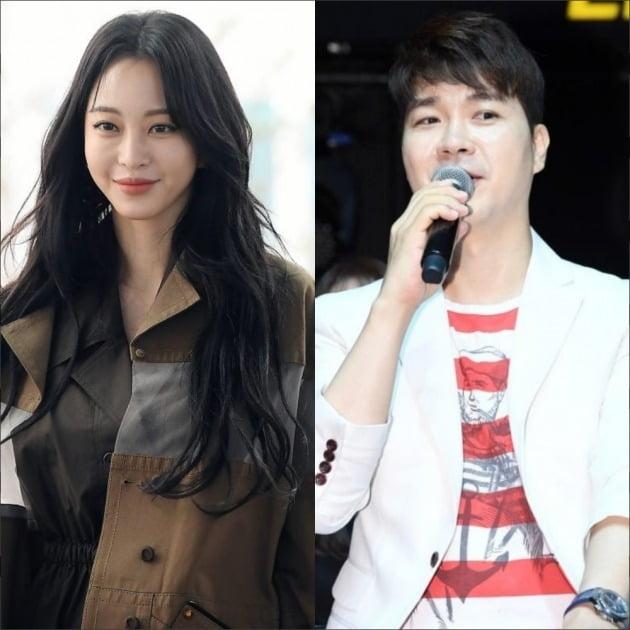 배우 한예슬(왼쪽), 방송인 박수홍./사진=텐아시아DB