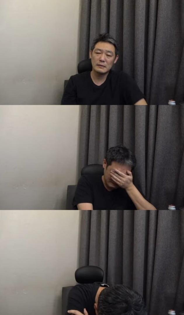 사진=유튜브 '김용호 연예부장' 영상 캡처.