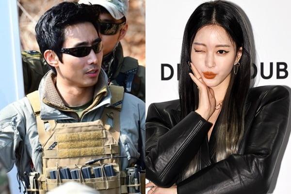 유튜버 이근(왼쪽)과 배우 한예슬/ 사진=인스타그램, 텐아시아DB