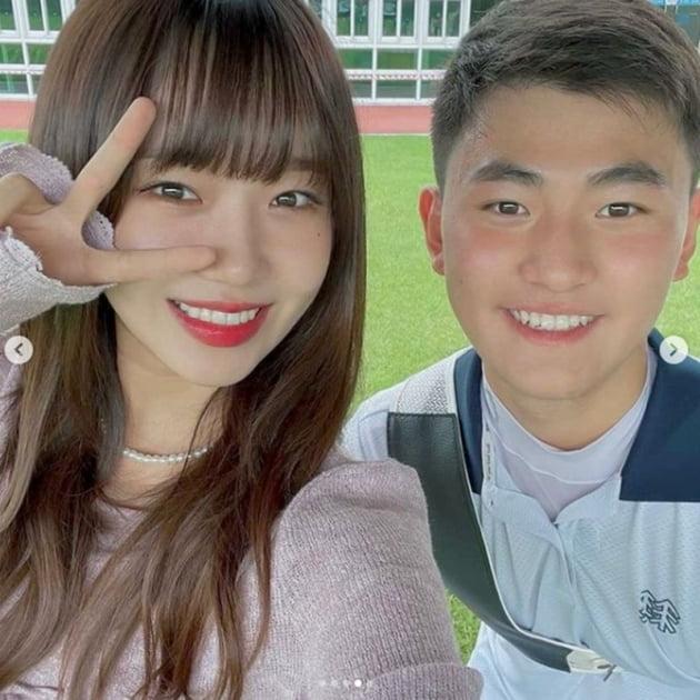 최유정 김제덕 / 사진 = 최유정 인스타그램