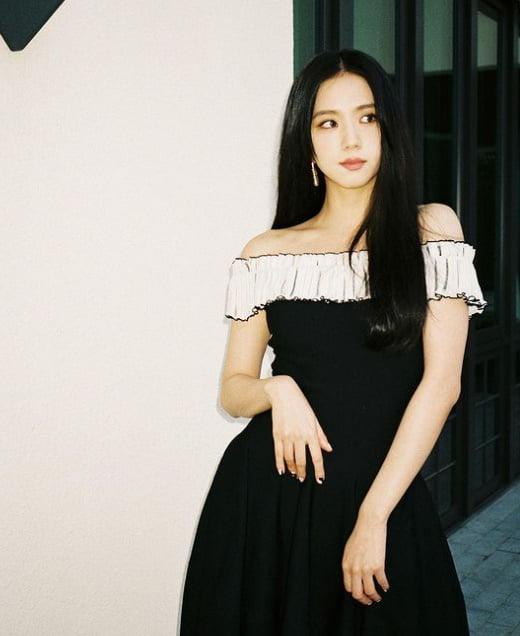 블랙핑크 지수, 시크+섹시 '블랙홀 매력' [TEN★]
