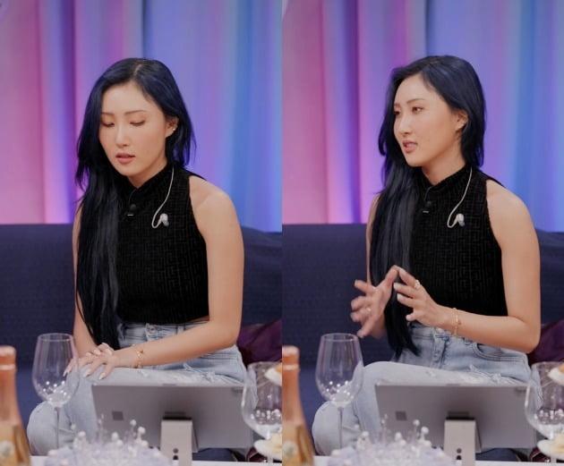 사진=나우 '한혜진의 백스테이지' 영상 캡처.