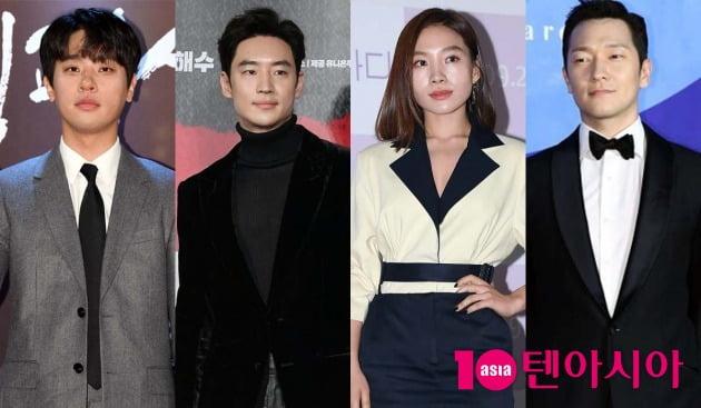 배우 박정민(왼쪽부터), 이제훈, 최희서, 손석구가 감독으로 연출작을 선보인다. / 사진=텐아시아DB