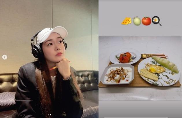 성유리, 건강식으로 쌍둥이 챙기는 예비맘[TEN★]
