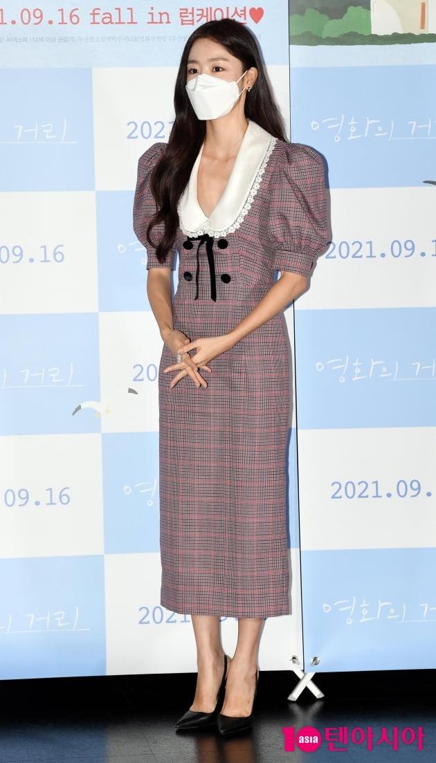 [TEN 포토] 한선화 '고향 부산 사투리 연기 감회 남달랐다'