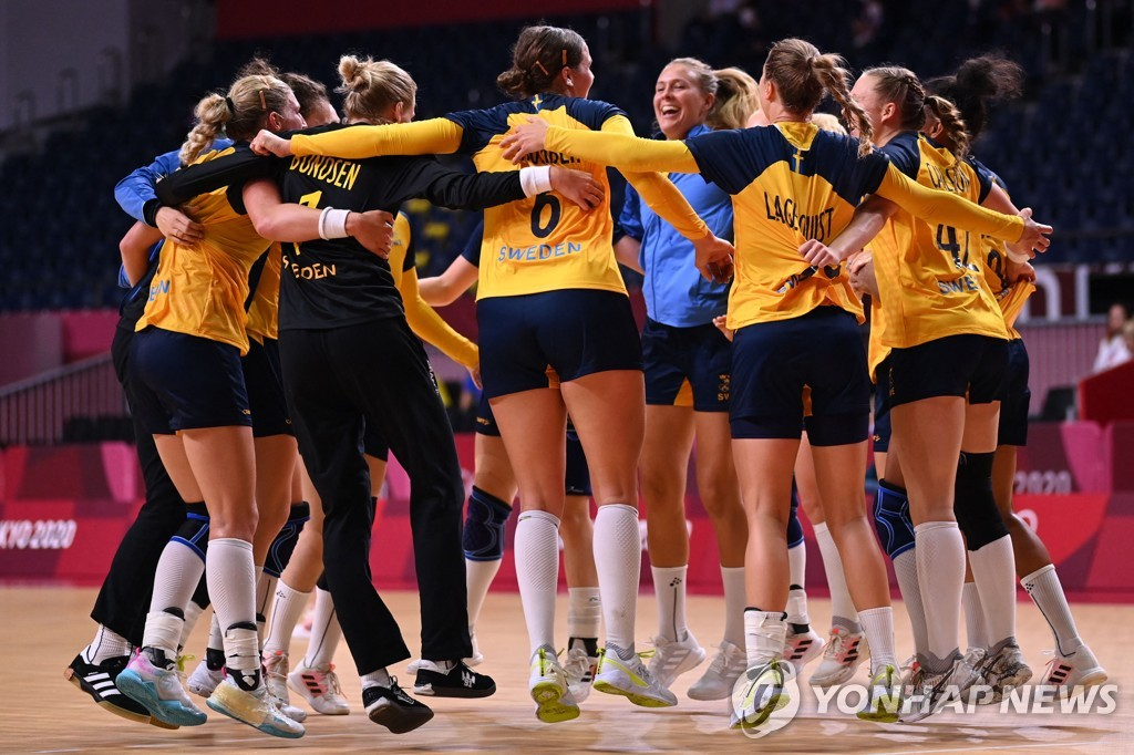[올림픽] 여자 핸드볼, 4일 스웨덴과 8강전…'우생순을 다시 한번'