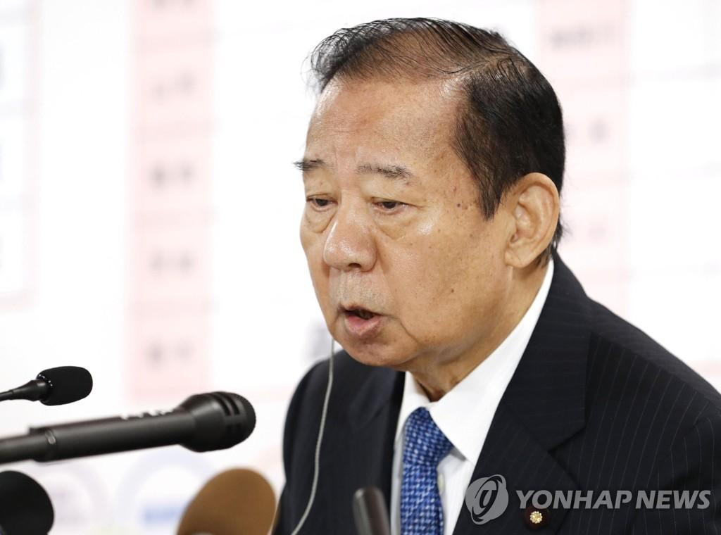 """日집권당 실세 니카이 """"스가 연임 가능성 매우 큰 상황""""(종합)"""