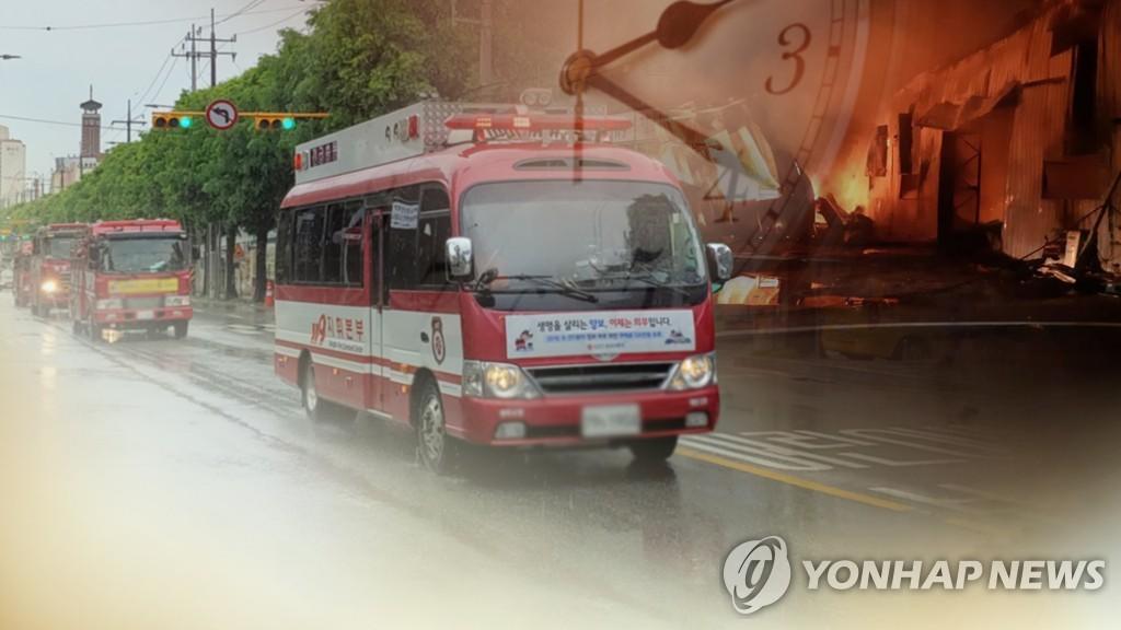 인천 오류동 식품공장서 불…대피 직원 1명 경상(종합)