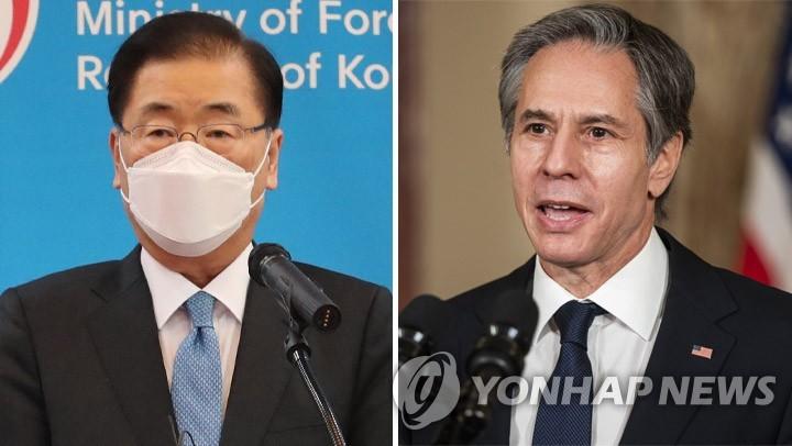한미 외교장관 통화…인도적 지원 등 북한과의 협력방안 논의(종합)