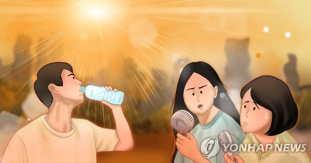 전북 연이은 폭염에 가축 6만7천 마리 폐사·온열 질환자 69명
