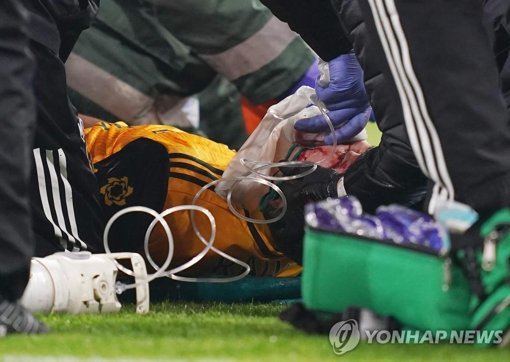 """두개골 골절 히메네스, 9개월 만의 EPL 복귀 """"포기하지 않았다"""""""