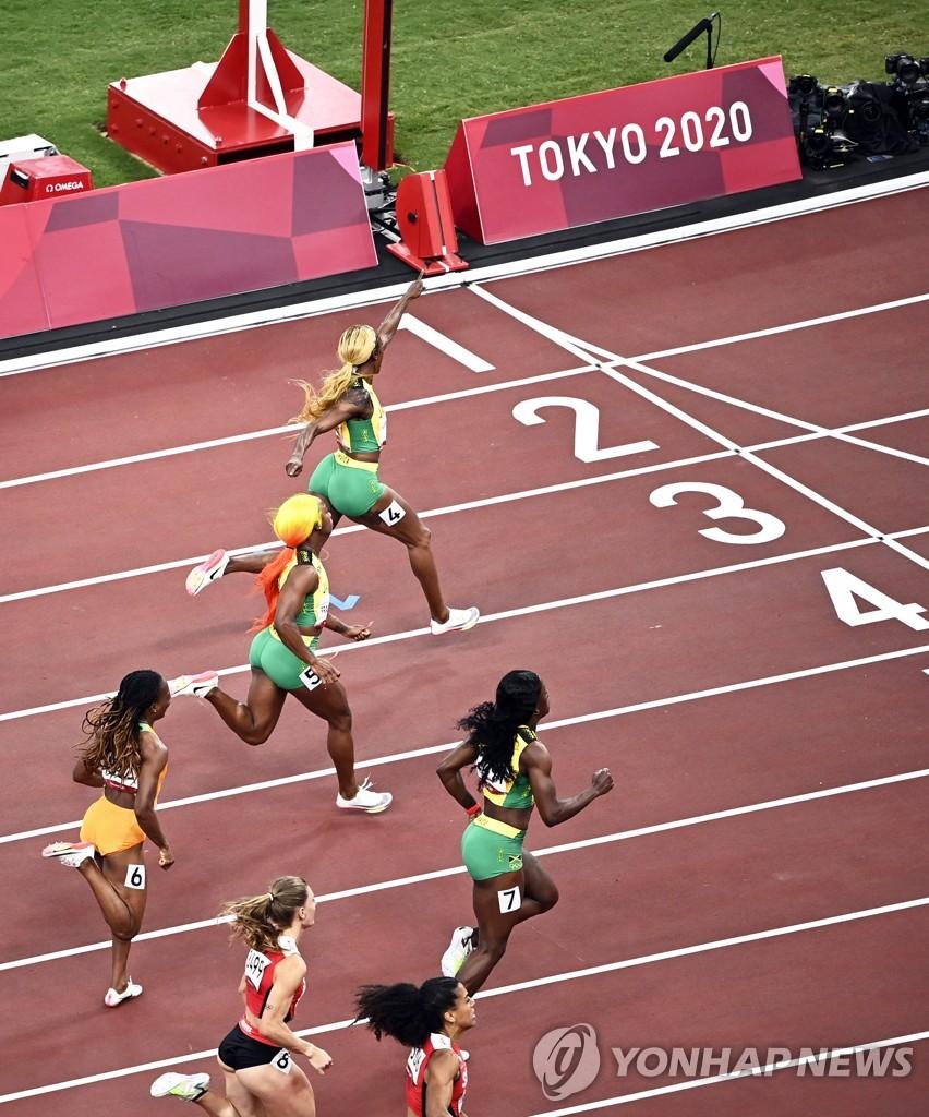[고침] 스포츠(-올림픽- '10초61' 톰프슨, 조이너의 올림…)
