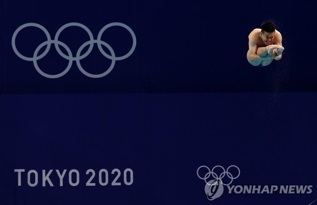 [올림픽] 6번째 도전 마친 불혹의 일본 '다이빙 전설'에 기립박수