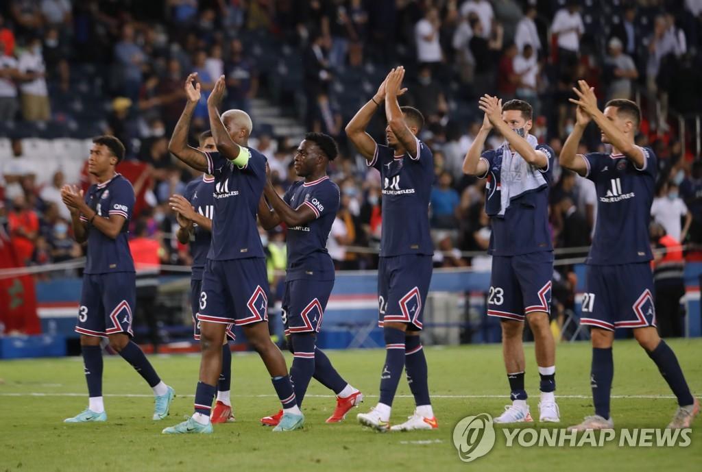 PSG, 리그1 개막 2연승 질주…'이적생' 메시 데뷔전은 아직