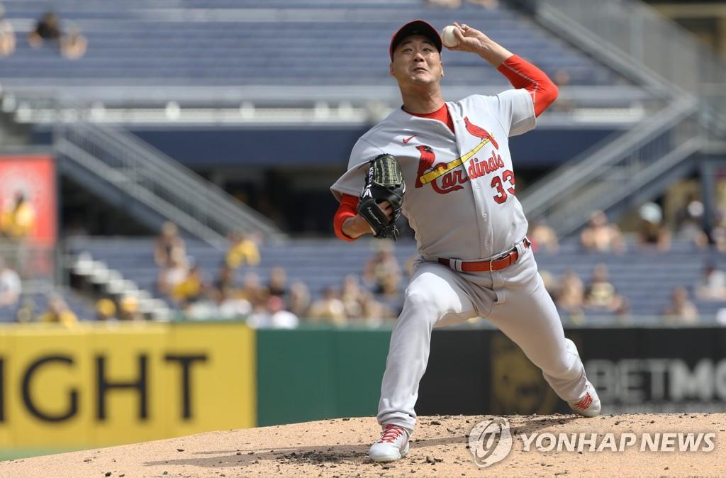 김광현, 22일 만에 선발 복귀전서 호투…4이닝 1실점(종합)