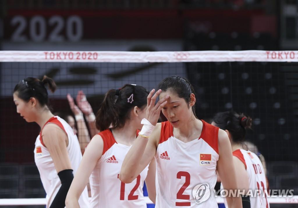 [올림픽] '14억의 최애' 여자배구팀 탈락에 대륙 탄식