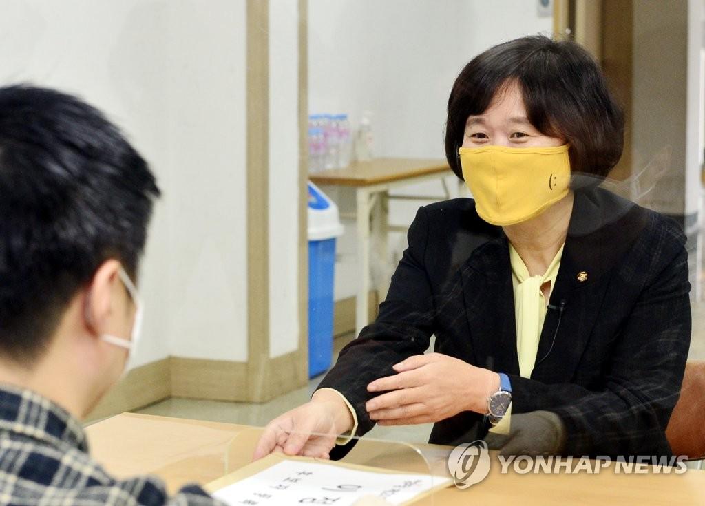 """정의당 이정미 대선 출마 """"기득권 바통 뺏어 청년세대에"""""""