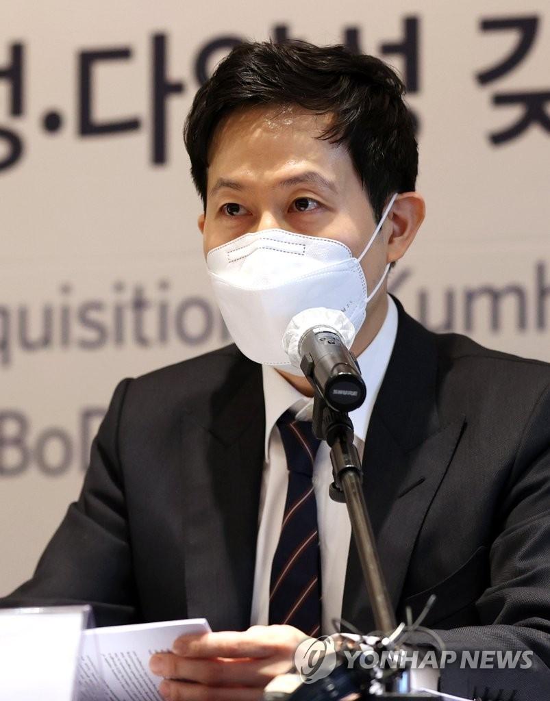 금호석화 '조카의 난' 패한 박철완, 세누나에 주식 930억원 증여
