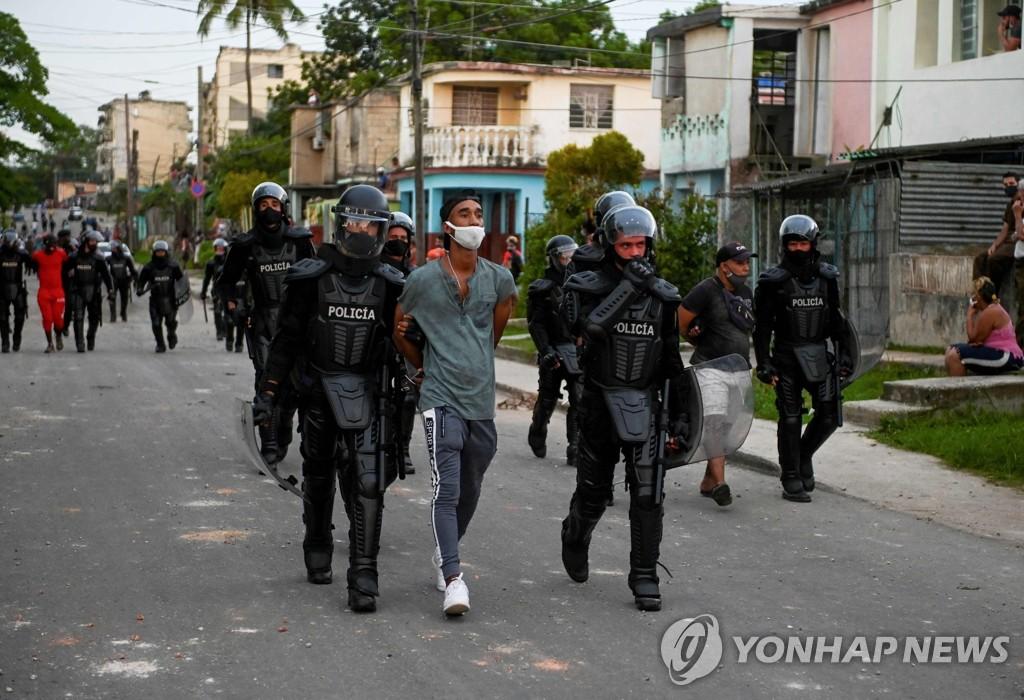"""북한 """"미국의 쿠바 제재는 내부교란 부추기려는 내정간섭"""""""